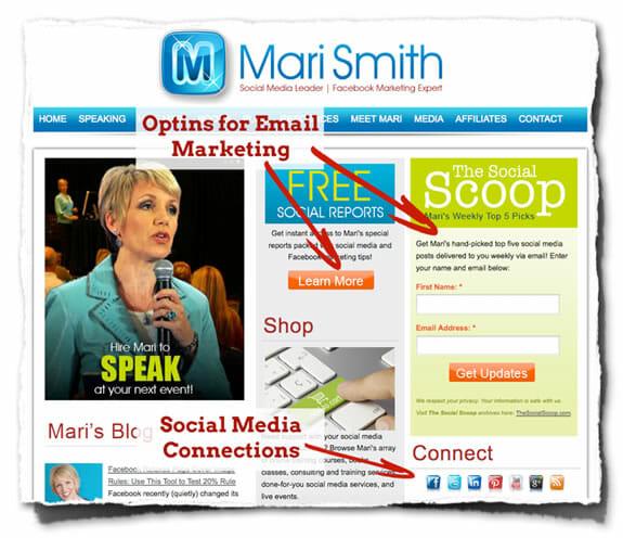 Mari Smith Home Page