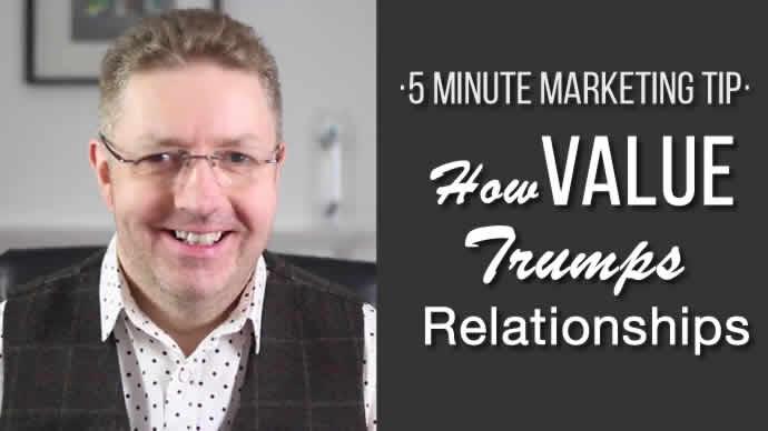 Value Trumps Relatonsips