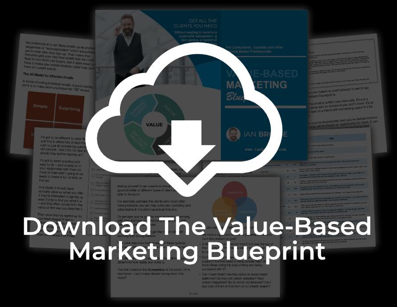 Download the Value-Based Marketing Blueprint